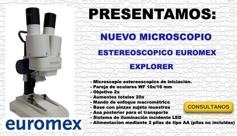 Nuevo Microscopio Explorer Euromex
